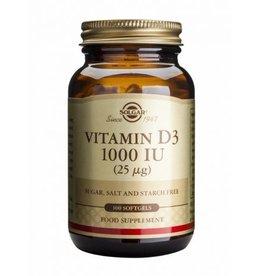 Solgar Solgar Vitamin D-3 25 µg/1000 IU 100 softgel