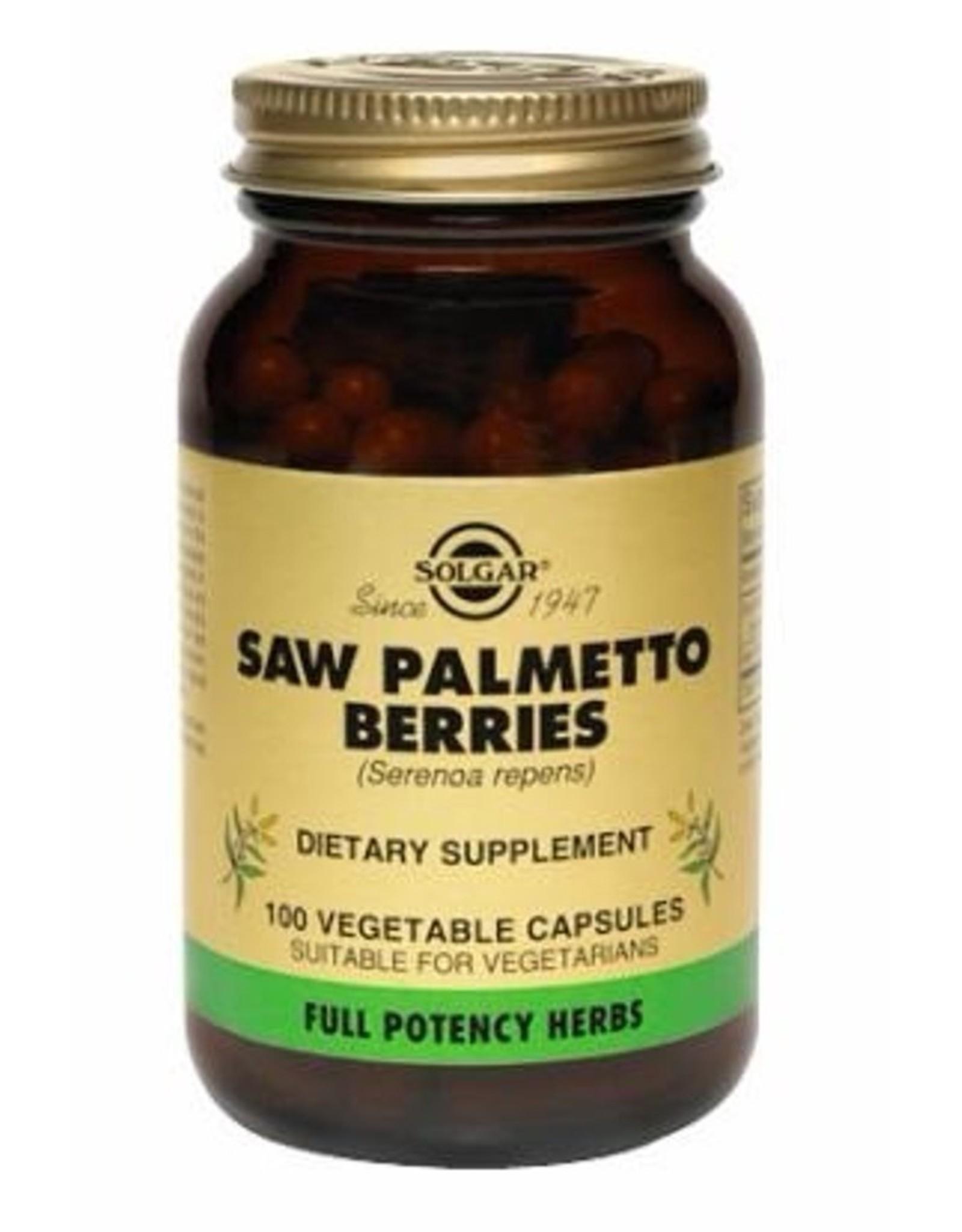 Solgar Solgar Saw Palmetto Berries plantaardige 100 capsules