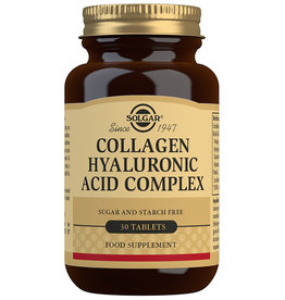 Solgar Solgar Collagen Hyaluronic Acid Complex 30 tabletten