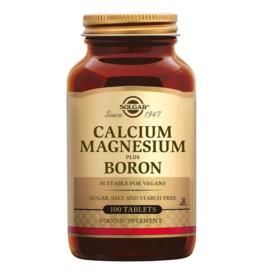 Solgar Calcium Magnesium plus Boron 100 tabletten