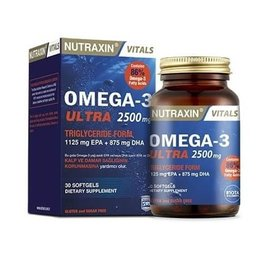 Nutraxin Biota Nutraxin Omega-3 Ultra 2500 mg 30 Kapsül