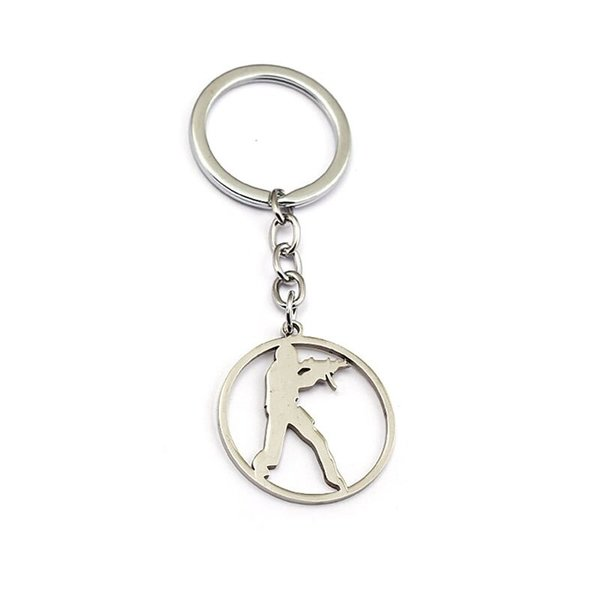 CS:GO logo keychain