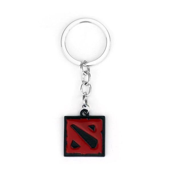 Dota 2 keychain - BLACK/RED