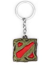 Dota 2 keychain - BRONZ/RED