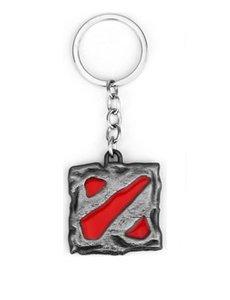 Dota 2 keychain - SILVER/RED