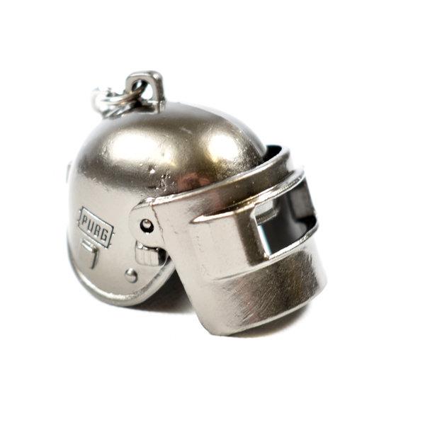 Helm sleutelhanger uit PUBG