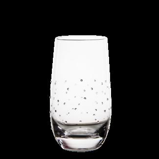 Luxor Crystal / Österreich, Mils Glas WATER (2 Stück)