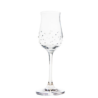 Luxor Crystal / Österreich, Mils Glas LIQUEUR (2 Stück)