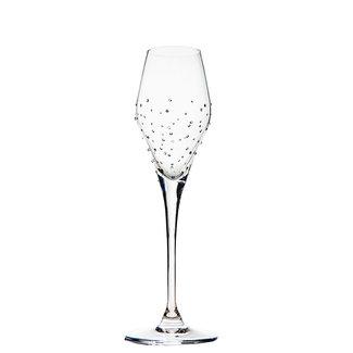 Luxor Crystal / Österreich, Mils Champagnerglas CHAMPAGNE TULIP (2 Stück)