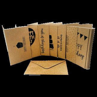 "Mehrere Produzenten / Pakete & Sets Glückwunschkarte - ""Happy Birthday I"""