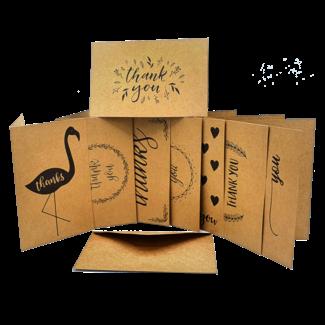 "Mehrere Produzenten / Pakete & Sets Glückwunschkarte - ""Thank You I"""