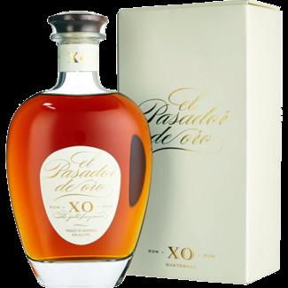 El Pasado / Zentralamerika, Guatemala El Pasador de Oro XO Rum in Geschenksbox 0.7 l 40% vol