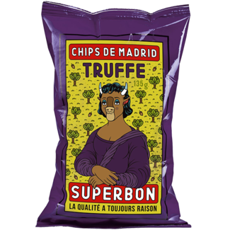 Superbon / Spanien, Madrid Trüffel Chips (135g)