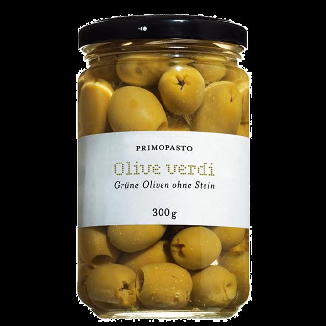 Olive Verdi Snocciolate (300g)