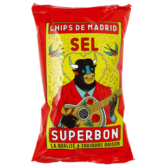 Superbon / Spanien, Madrid Chips Sel (145g)