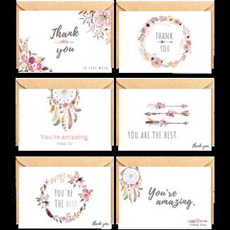 "Mehrere Produzenten / Pakete & Sets Glückwunschkarte - ""Thank You II"""