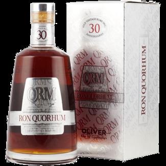 Oliver & Oliver / Zentralamerika, Dom. Republik Ron Quorhum 30 Aniversario Old Vintage Rum GP 0.7 l 40% vol