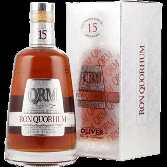 Oliver & Oliver / Zentralamerika, Dom. Republik Ron Quorhum 15 Años Solera Rum in Geschenksbox 0.7 l