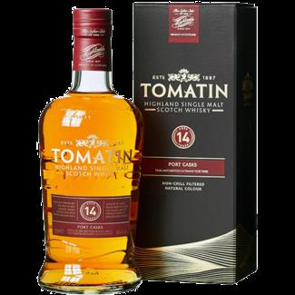 Tomatin Distillery / Schottland, Tomatin  Tomatin 14 Years Old Port Casks GB  0.7 l 46% vol