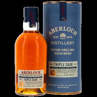 Aberlour Distillery / Schottland, Speyside Aberlour Triple Cask Highland Single Malt GB 0.7 l 40% vol