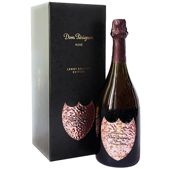 "Dom Perignon Rose ""Lenny Kravitz Limited Edition"" 2006 0.75 l"