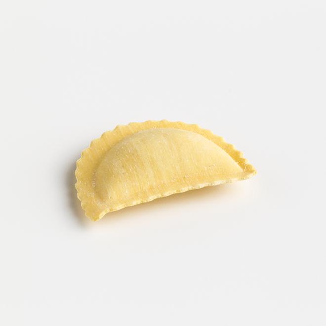 Frische handgemachte Ricotta-Eierschwammerl Mezzelune (1 kg)