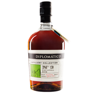 Destilerias Unidas / Venezuela Diplomático Distillery Collection No.3 Pot Still Rum 0.7 l