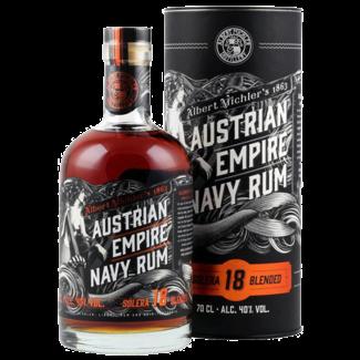 Albert Michler Distillery / UK, Bristol Austrian Empire Navy Rum Solera 18 0.7 l 40% vol