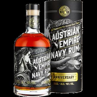 Albert Michler Distillery / UK, Bristol Austrian Empire Navy Rum Anniversary 0.7 l 40% vol