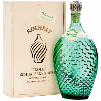 Rochelt / Österreich, Tirol Hollermandl Edelbrand 0.35 l  50% vol