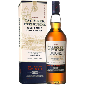 Talisker Distillery / Schottland, Isle of Skye Talisker Port Ruighe Whisky 0.7 l 45.8% vol