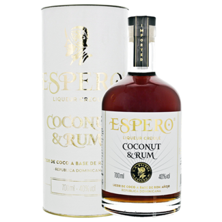 Espero Distillery / Dom. Republik Creole Coconut & Rum Flavoured 0.7 l 40% vol