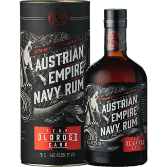 Albert Michler Distillery / UK, Bristol Austrian Empire Navy Rum Oloroso Cask 0.7 l 49.50% vol