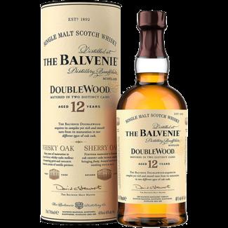 Balvenie Distillery Company / Schottland, Dufftown The Balvenie 12YO Double Wood Single Malt Whisky in Geschenkspackung 0.7 l