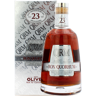 Oliver & Oliver / Zentralamerika, Dom. Republik Ron Quorhum 23 Anos Solera Rum in Geschenksbox 0.7 l