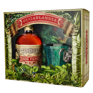 Don Papa Rum  / Philippinen, Insel Negro Don Papa Rum Sugarlandia Set 0.7 l 40% vol