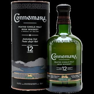 Connemara Distillery / Irland, Galway 12 YO Peated Single Malt Irish Whiskey 0.7 l 40% vol