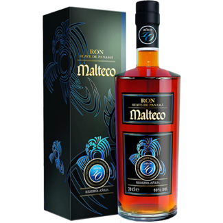 Malteco Distillery / Panama Malteco 10 YO Rum in Geschenksbox 0.7 l