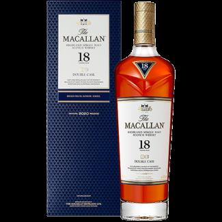 Macallan / Schottland, Speyside Macallan 18 Years Double Cask Whisky GB  0.7 l 43% vol