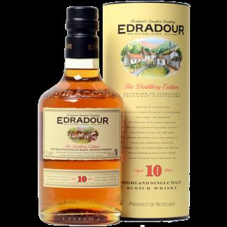 Edradour Distillery / Schottland, Pitlochry  10 Years Highland Whisky 0.7 l 40% vol