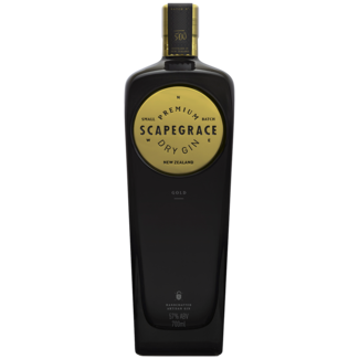 Scapegrace Distillery / Neuseeland Gold Dry Gin 0.7 l
