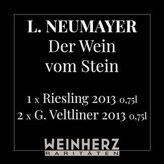 """Ludwig Neumayer / Traisental, Inzersdorf RARITÄTEN Set """"Der Wein vom Stein"""" 2013 0.75 l"""
