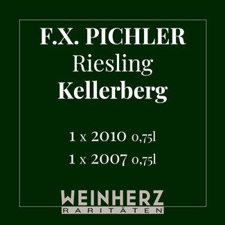 "F.X. Pichler / Wachau, Oberloiben RARITÄTEN Set ""Riesling Smaragd Kellerberg"" 2007 & 2010 0.75 l"