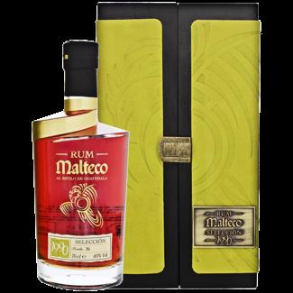 Malteco Distillery / Panama Malteco Seleccion 1990 Rum Holzbox 0.7 l 40% vol