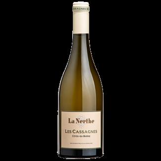 """La Nerthe / Burgund, Chateauneuf-du-Pape """"Les Cassagnes"""" Blanc Cotes-du-Rhone 2019 0.75 l"""