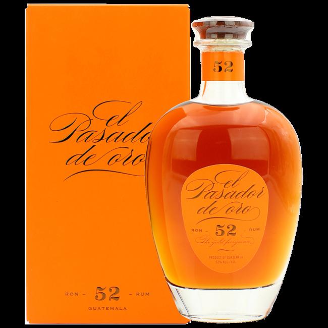 """""""52"""" Rum in GP 0.7 l 52% vol"""