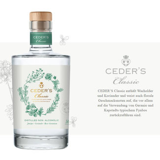 Ceder's / Südafrika Ceder's Classic Gin Alkoholfrei 0.5 l