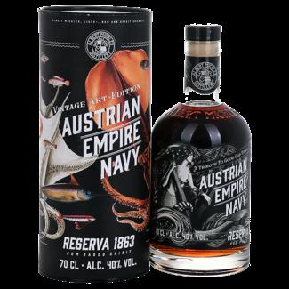 Albert Michler Distillery / UK, Bristol Austrian Empire Navy Rum Reserva 1863 - Vintage Art Edition 0.7 l 40% vol