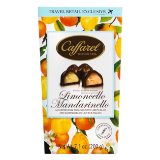 Caffarel / Italien, Piemont Limoncello und Mandarinello Ballotin (200g)