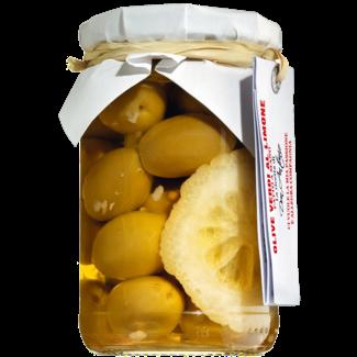 Don Antonio / Italien, Abruzzen Grüne Oliven mit Zitrone (280g)